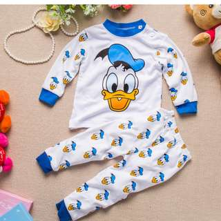 Donald Duck Baby Pyjamas Set