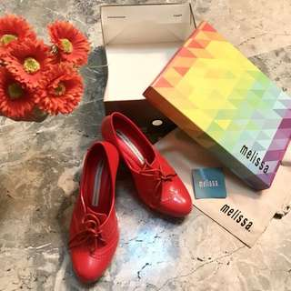 Good as brand new Melissa Red Comfy Heels