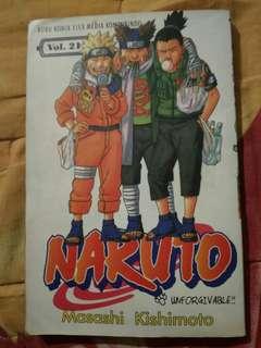 Naruto vol 21