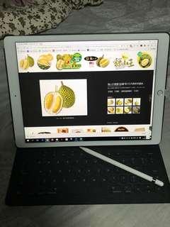 Ipad pro 12.9 notebook 手提電腦 apple 連 pencil keyboard 原價9×××