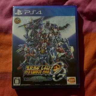 PS4 Super Robot Wars OG The Moon Dwellers R2 Full Jap