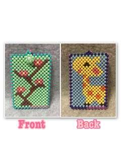 Handmade Card Holder (Beaded)