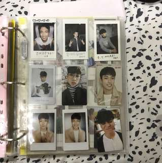 Assorted seventeen photocards