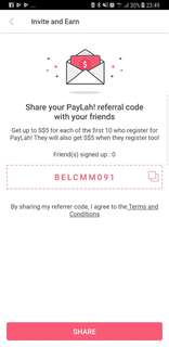 Free $5 dollar when u sign up using this code