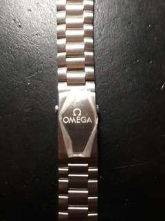 OEM 22mm Omega watch stainless steel bracelet