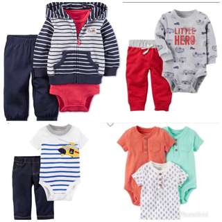 12M Baby Boy Items Readystock