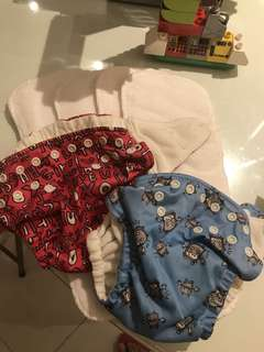 Charlie banana cloth diaper