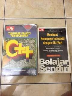 buku untuk belajar pemograman