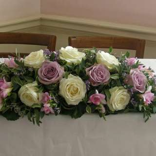 Wedding Table Flower Arrangement Centrepiece Table Decoration∕Fresh Flowers∕Bouquet - 30D4