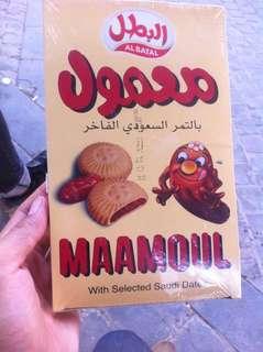 Biskuit mamoul isi selai kurma