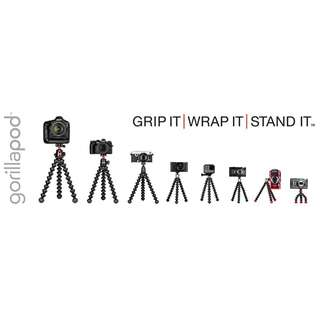 Joby Gorillapod 5k, 3k, 1k, 500, 325, GripTight Stand, Video, Action Tripod, Grip