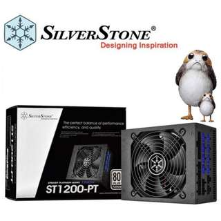 Silverstone Strider Platinum Series 1200W (Fully Modular, Platinum Rated, SST-ST1200-PT)