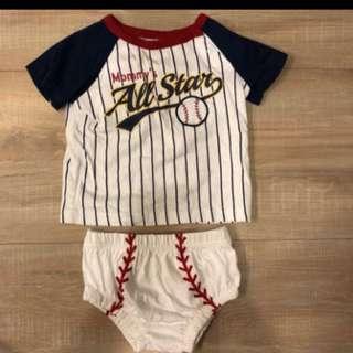 🚚 寶寶棒球裝