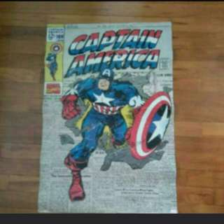 Captain America large Poster