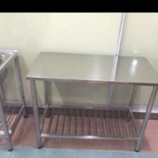 Promotion stainless steel table