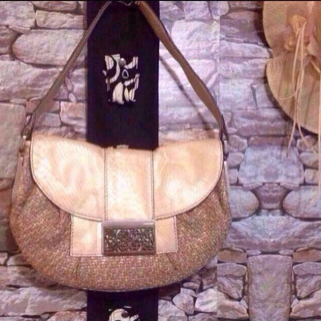 50%OFF! Calvin Klein Snakeskin Hobo Bag