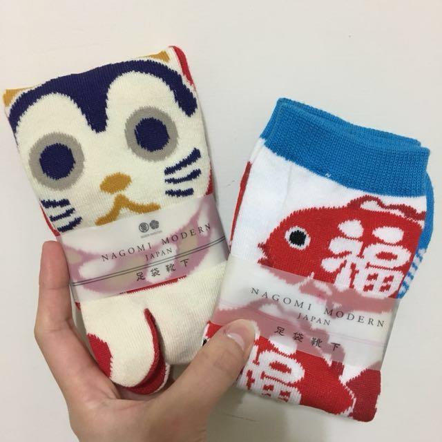 🇯🇵造型兩趾襪(貓🐱)