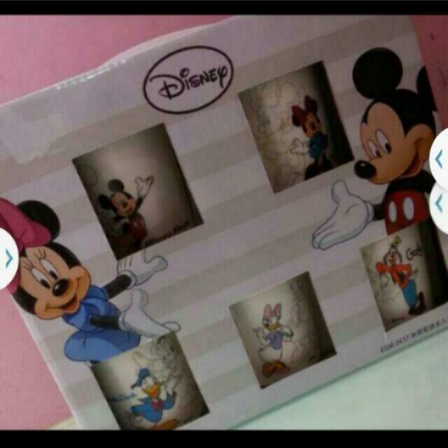 迪士尼家族五入水杯組