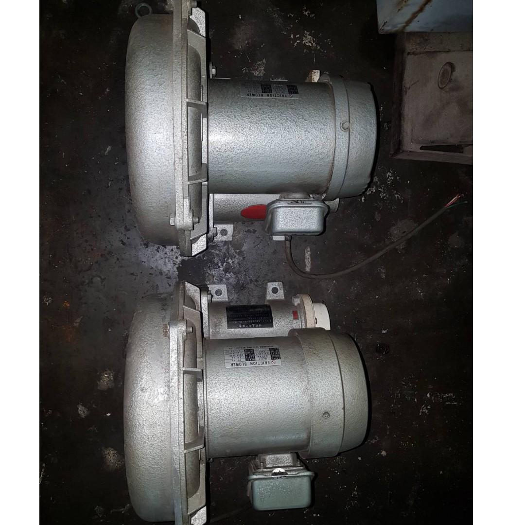 鼓風機 1HP 3相電