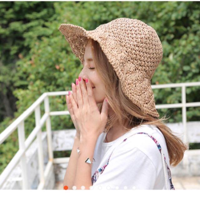 編織 草帽