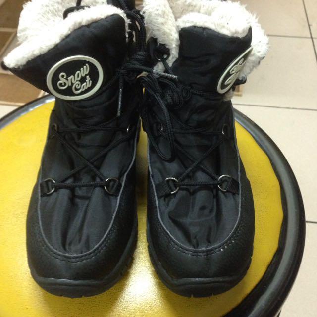 韓 保暖靴