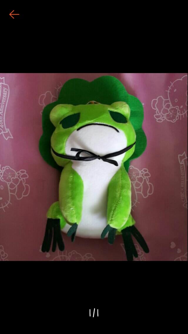 旅行青蛙 娃娃 公仔 玩偶