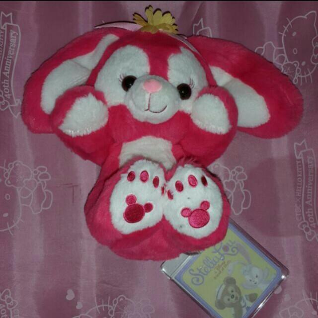 桃紅 史黛拉 達菲熊 系列 公仔 玩偶 娃娃