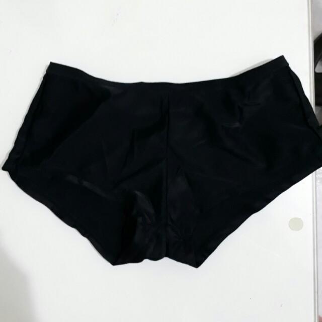 全新 平口 兒童 黑色 內褲 幼童 小內褲 女生 女孩 女童 平口 安全褲