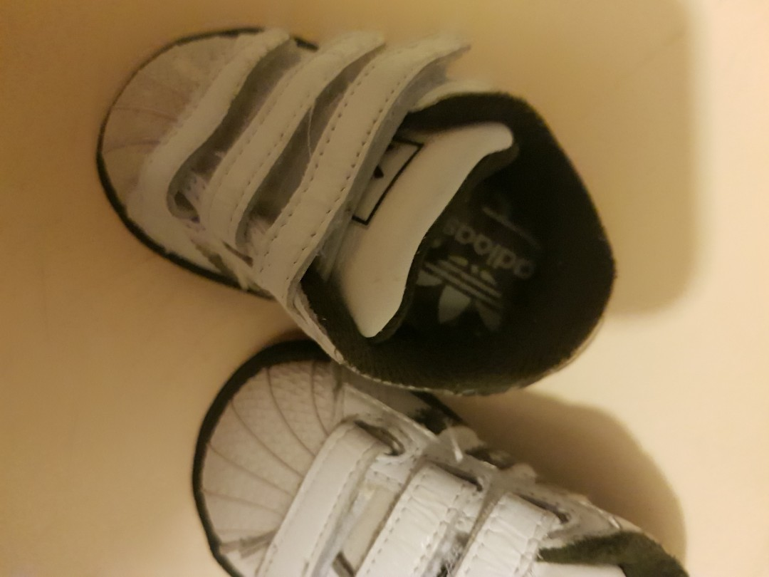 Adidas toddler shoes size 3