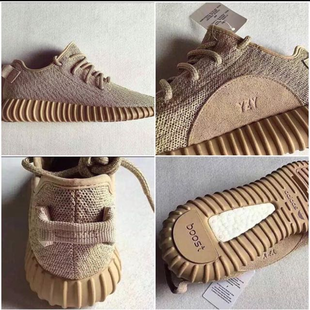 c8f47643389d1 Adidas Yeezy Boost 350 Oxford Tan