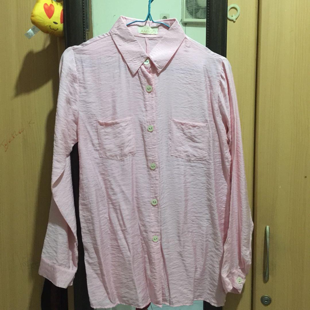 amygo pink shirt