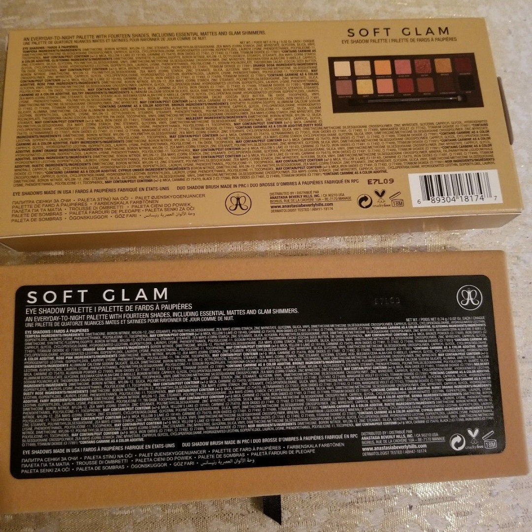 Anastasia Beverly Hills Soft Glam Eye Shadow Palette On hand NEW + AUTH (NO SWAPS)