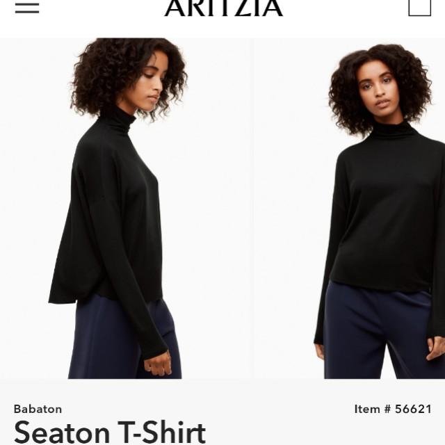 Aritzia babaton seaton shirt