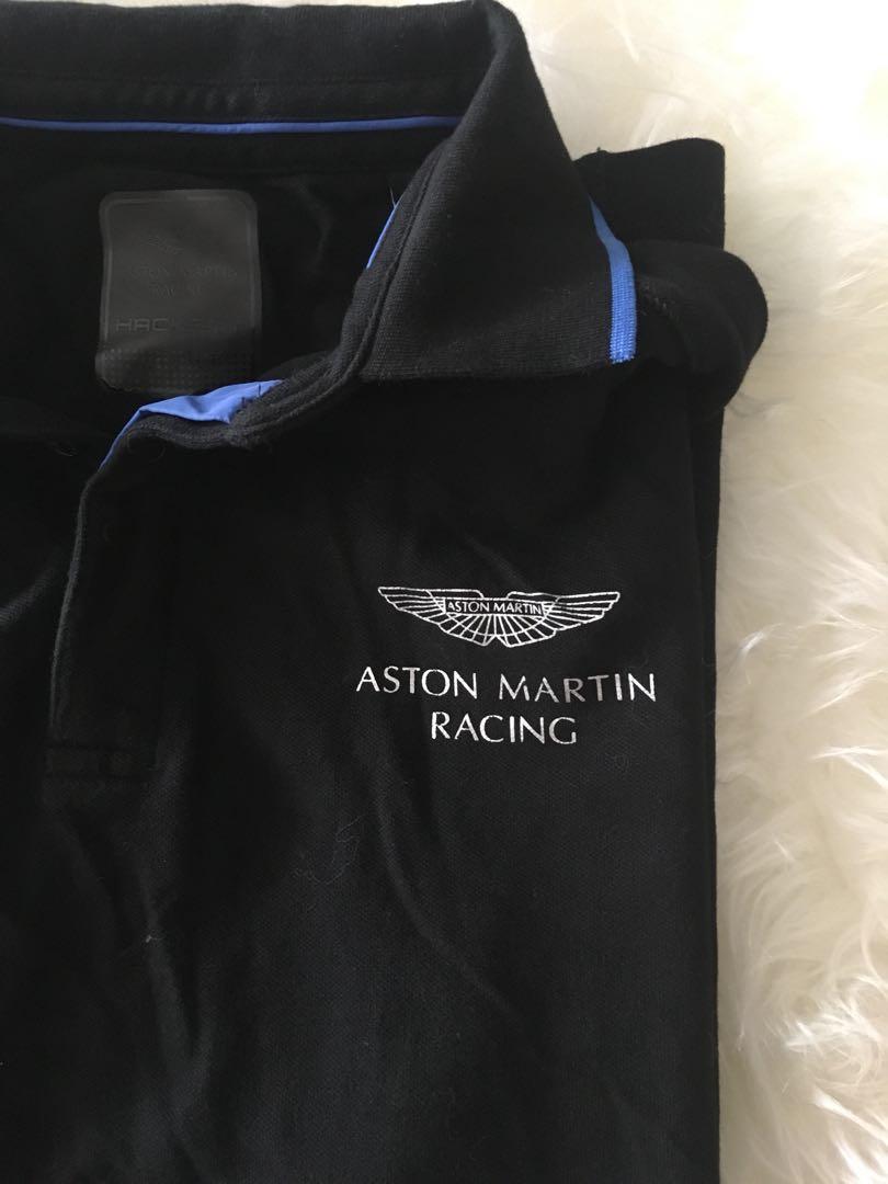 Aston Martin Polo Shirt Mens Fashion Clothes Tops On Carousell - Aston martin shirt