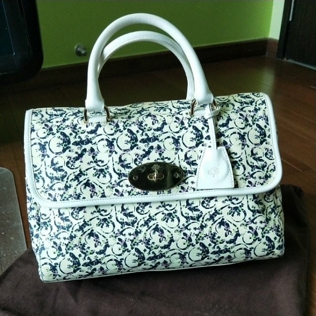 873d1881dc Almost new! Authentic Genuine Mulberry bag Del Rey Flora Gecko (not ...