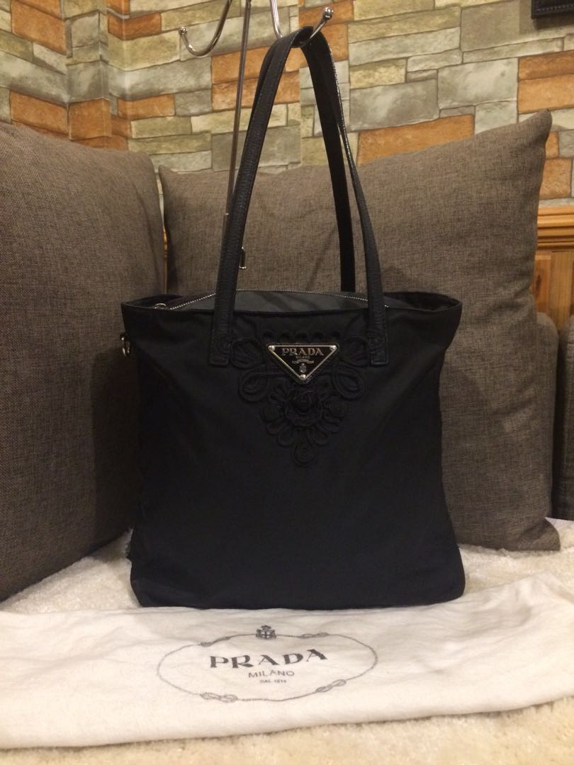 Authentic Prada Limited Edition Tote With Dustbag