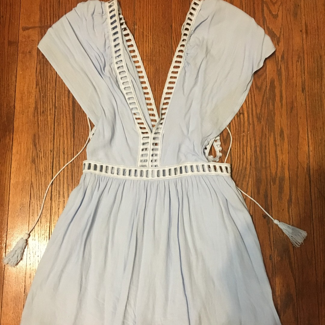 Baby Blue Romper from Mendocino Size M