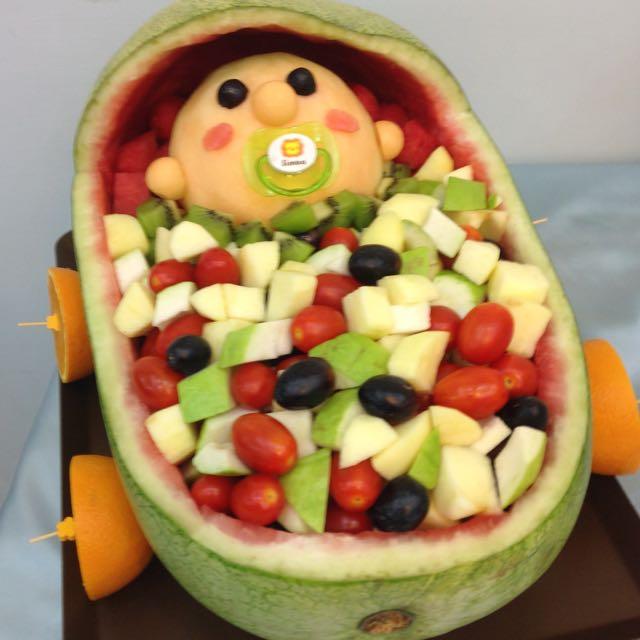 Baby Shower 水果佈置