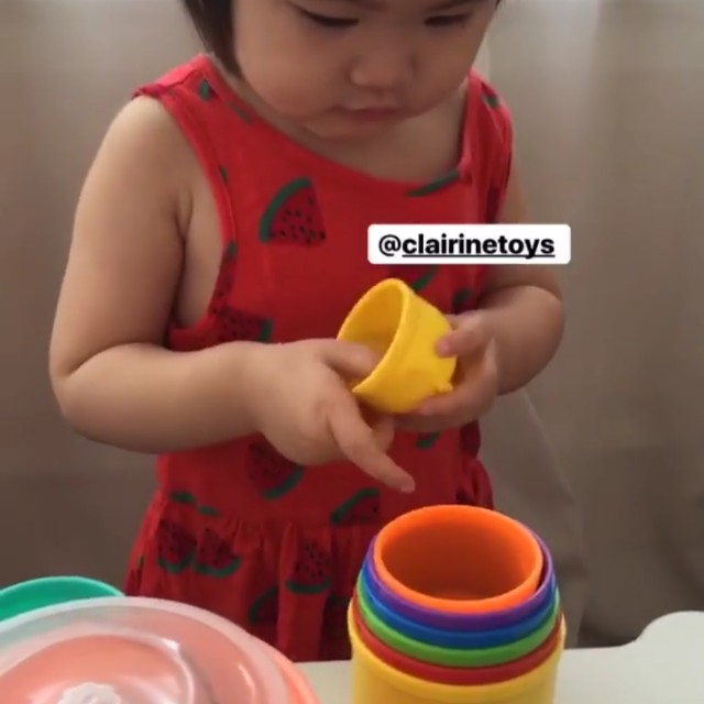 Baby Stacking Cup