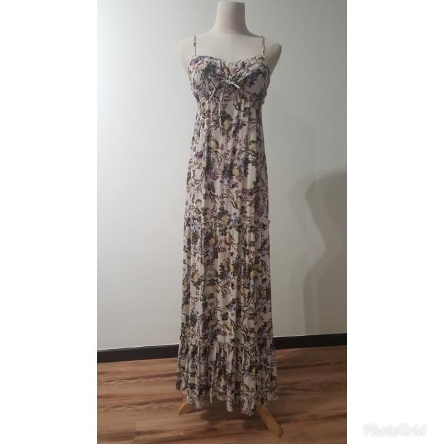 421f1e0fd59 BERSHKA MAXI DRESS, Women's Fashion, Clothes, Dresses & Skirts on ...