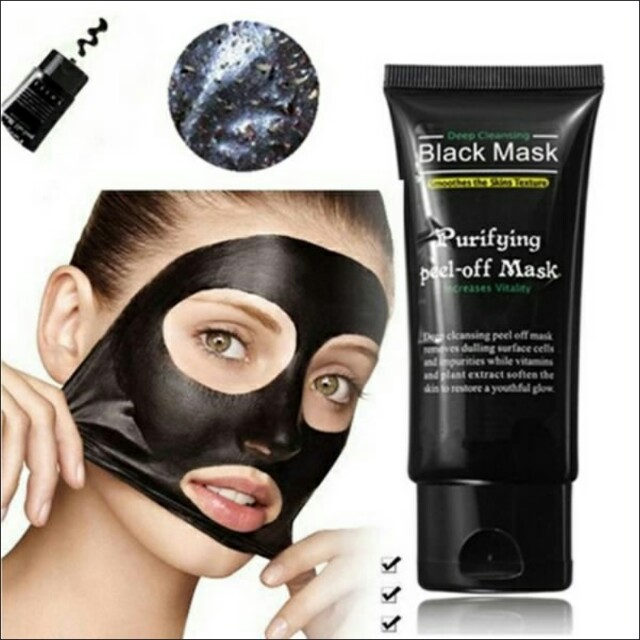 Skin Care Tool Romantic New Face Mask Blackhead Remover Deep Cleansing Purifying Peel Off Acne Black Mud Facial Black Mask Face Care Nose Acne Remover Skin Care