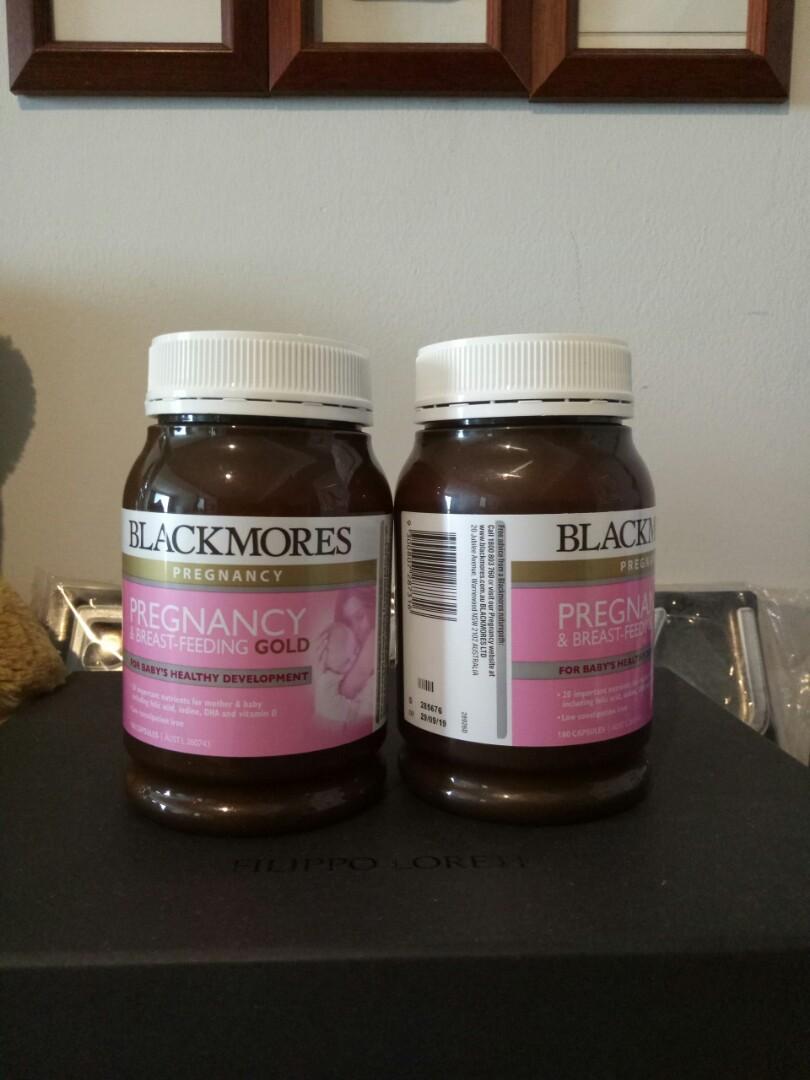 Blackmore pregnancy and breastfeeding
