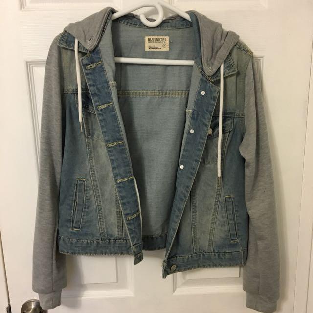 Bluenotes Denim Jacket/Sweater