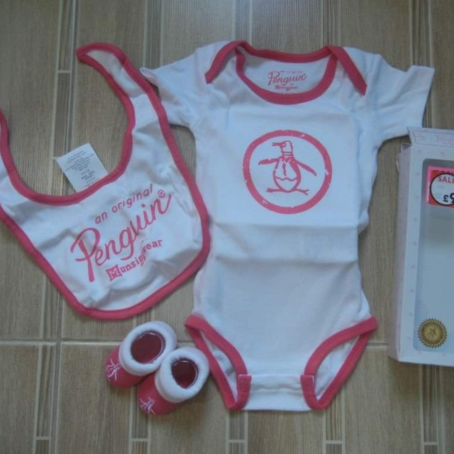 Bnew and Authentic Penguin (0-6M)