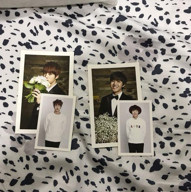 BTS 3rd membership photocard + Postcard set
