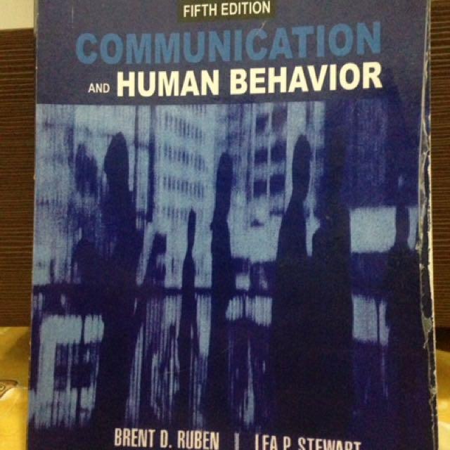 Buku komuikasi :Communication and human behavior