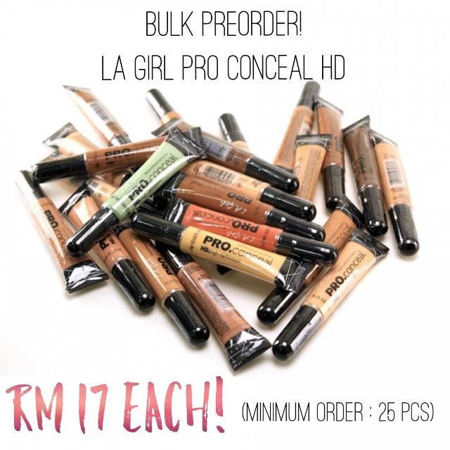 BULK PREORDER LA GIRL PRO CONCEAL HD