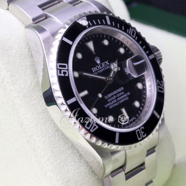 Buying Rolex 16610 with Rehault