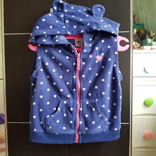 Carter's original hooded Jacket Vest