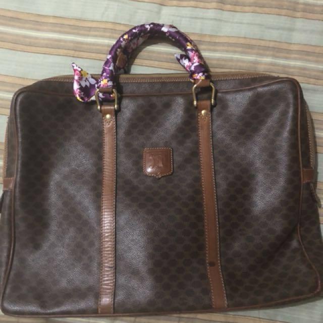 Celine Paris Macadam Briefcase/Laptop bag